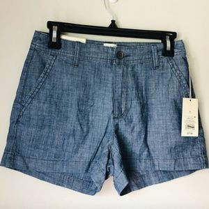 3/$25 NWT A New Day Blue Shorts - Size 0